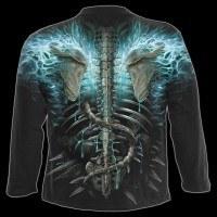 Flaming Spine - Longsleeve