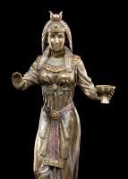 Ägyptische Figur - Königin mit Kelch