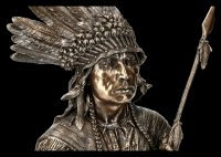 Indian Bust - Orator of the Sioux Nation