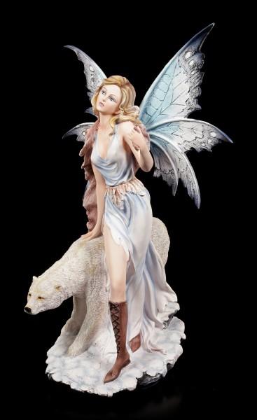 Elfen Figur - Milaileé mit Eisbär