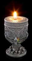 Gothic Tealight Holder - The Claw