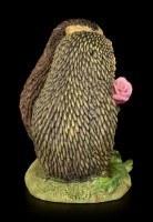 Lustige Igel Figur - Rosenkavalier