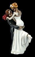 Skelett Figur - Brautpaar Love Never Dies - Happy Reunion