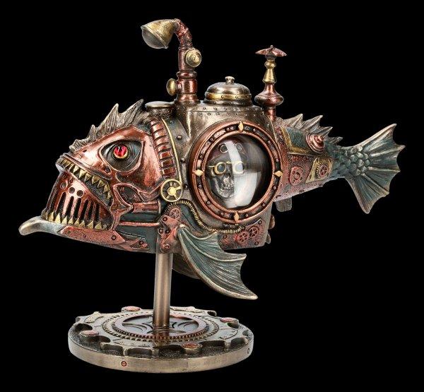 Steampunk Figur - Fisch U-Boot - Sub Piranha