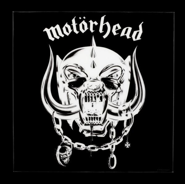 Motörhead Hochglanz Bild - Logo invertiert