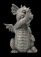 Garden Figurine - Dragon Cheeky Monkey small