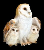 Garden Figurine - Owl Family