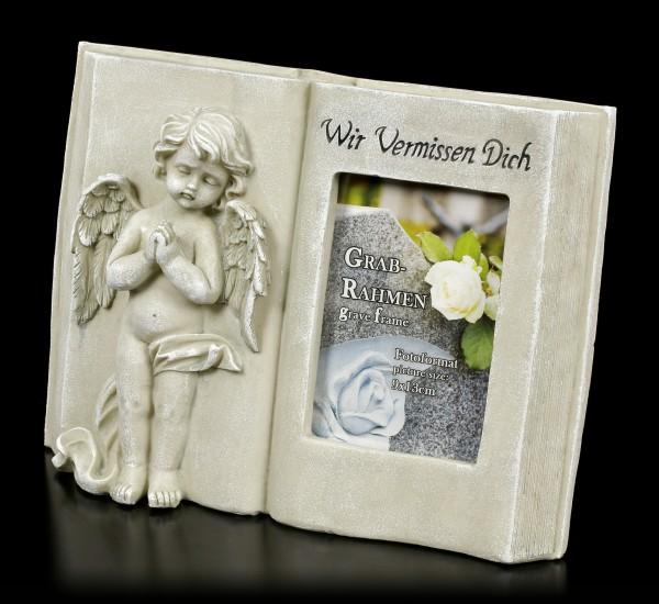 Grab Bilderrahmen Engel - Wir Vermissen Dich