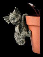 Garden Figurine Set of 4 - Dragon Planter Hangers