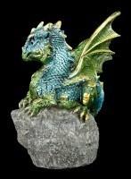 Drachen Figur - Der Wächter - Grün