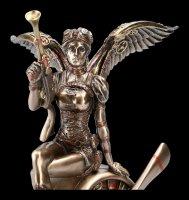 Steampunk Angel Figurine - Warrior on Propeller