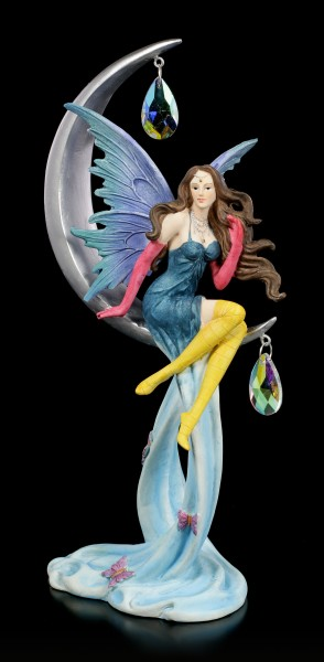 Fairy Figurine - Agnosia sitting on Moon