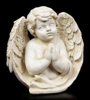 Angel Figurine - Cherub engrossed in Prayer