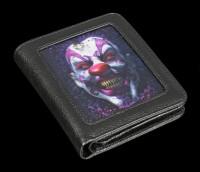 Geldbörse mit 3D Horror Clown - Keep Smiling