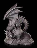Drachen Teelichthalter - Dragon Lair links