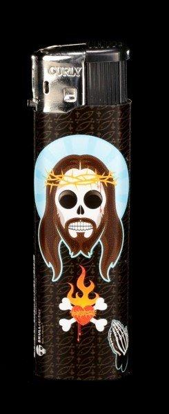 Feuerzeug - Skullebrities - Sonny - dunkel