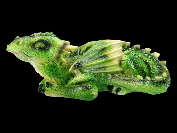 Dragon Figurine - Emerald Dreaming