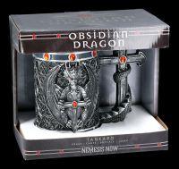 Gothic Tankard - Dragon Obsidian