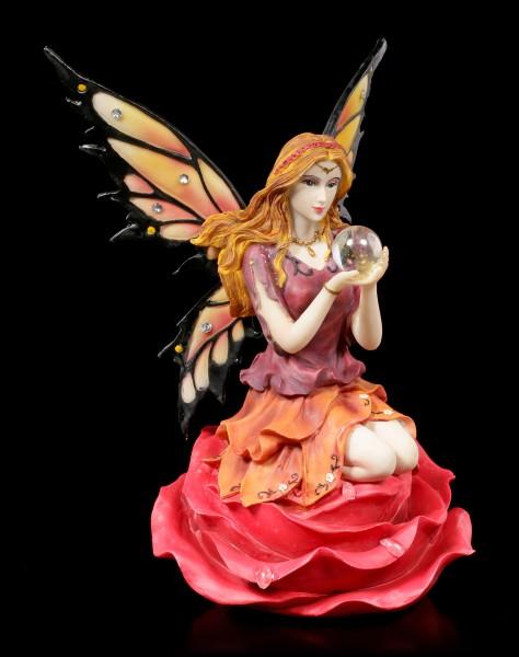 Fairy Figurine - Isara on Rose bloom