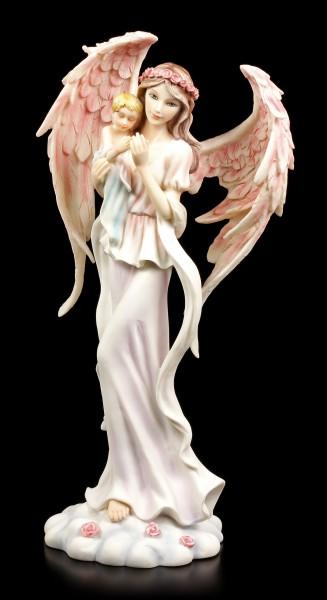 Engel Figur - Haamiah mit Baby
