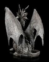 Drachen Figur - Checkmate Dragon - schwarz