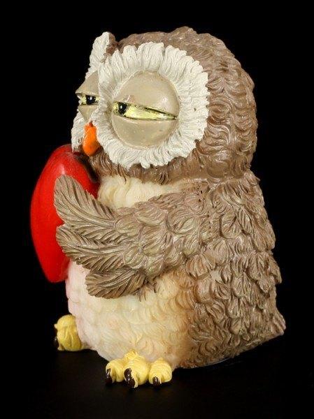 Owl in Love - Funny Figurine