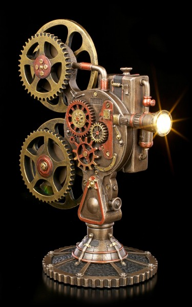 Steampunk Movie Projector with Light