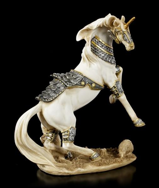 Unicorn Figurine in Armour