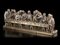 Das Letzte Abendmahl nach Leonardo da Vinci - bronziert