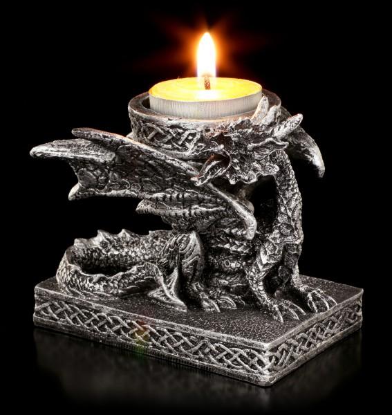 Dragon Tealight Holder - Light of Eternity