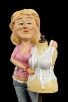 Funny Job Figur - Schneiderin mit Schneiderpuppe