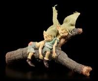 Pixie Kobold Figuren schlafend - Nichts geht mehr