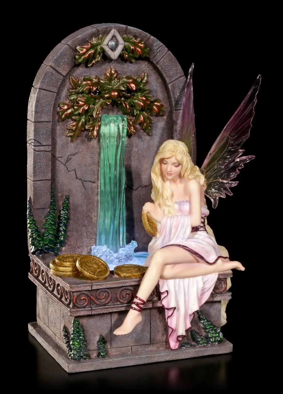 Fairy Figurine LED - Fairy Wishing Well