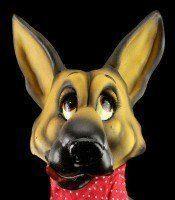 Lustige Hunde Figur - Deutscher Schäferhund