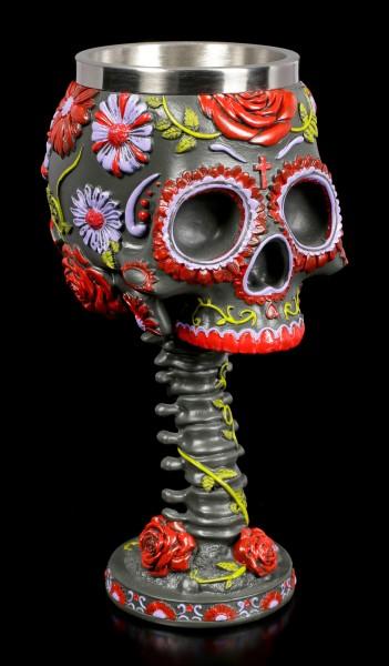 Skull Goblet - Sugar Blooms