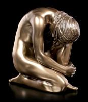 Female Nude Figurine with Leg on