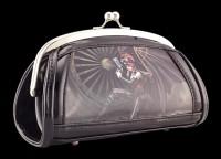 Lack Abend-Handtasche mit 3D Motiv - Assassin