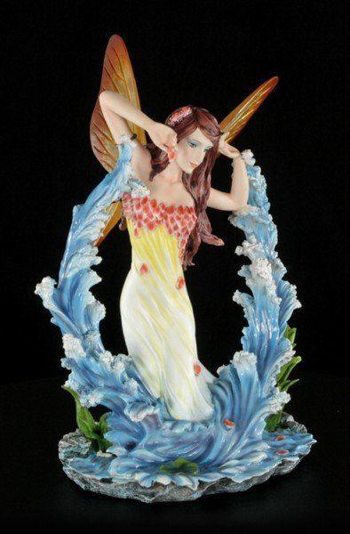Engel Figur - Maren spielt in den Wellen