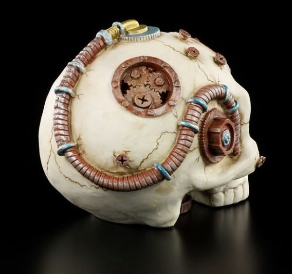 Steampunk Skull without Jaw
