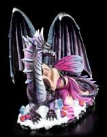 Fairy Figurine - Soraya sleeping on Dragon