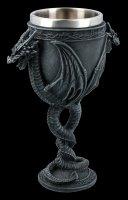 Goblet - Winged Dragon Snake