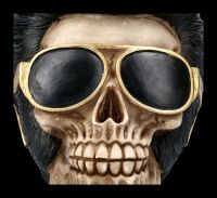 Totenkopf Figur - Uh Huh The King
