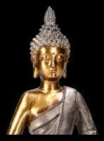 Buddha Figurine gold colored - Dhyana Mudra