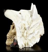 Totenkopf mit Wolfsmütze - Night Wolf