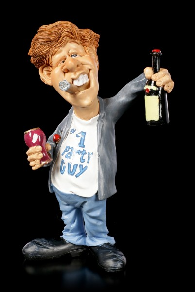 Funny Job Figurine - Party Guy #1