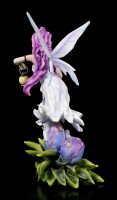 Elfen Figur - Lisa mit Tulpe und Laterne