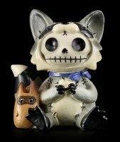 Raccoon - Furry Bones Figure