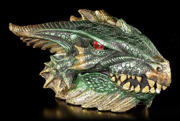 Vorschau: Drachen Schatulle - Gut bewacht - grün