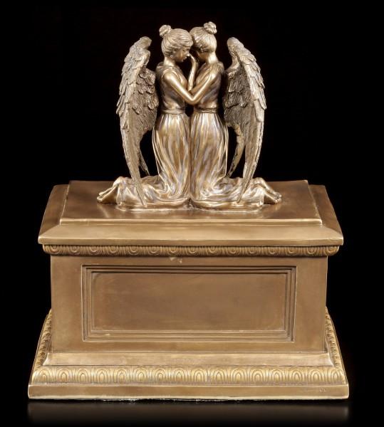 Tier Urne - Trauernde Engel