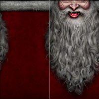 Multifunktions-Gesichtstuch - Santa